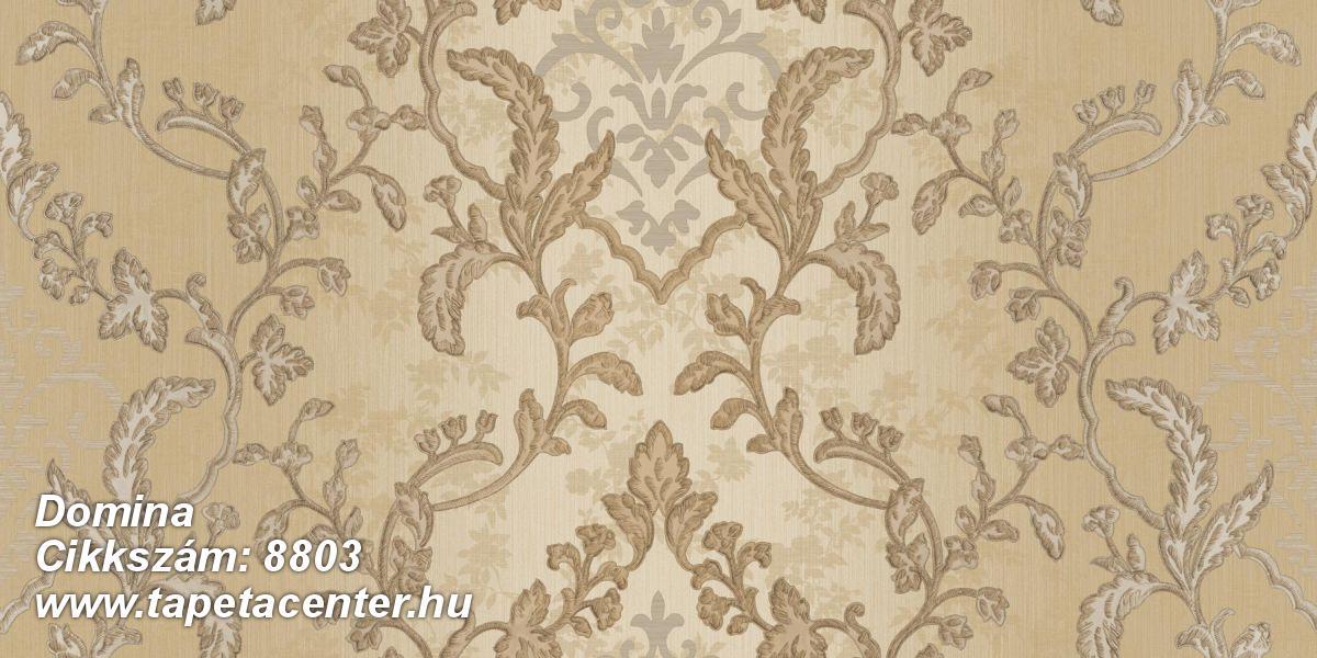 Barokk-klasszikus,arany,barna,bézs-drapp,súrolható,vlies tapéta