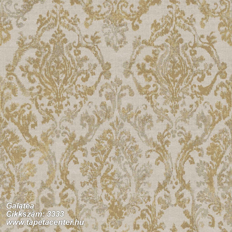 Barokk-klasszikus,textil hatású,arany,barna,szürke,súrolható,vlies tapéta