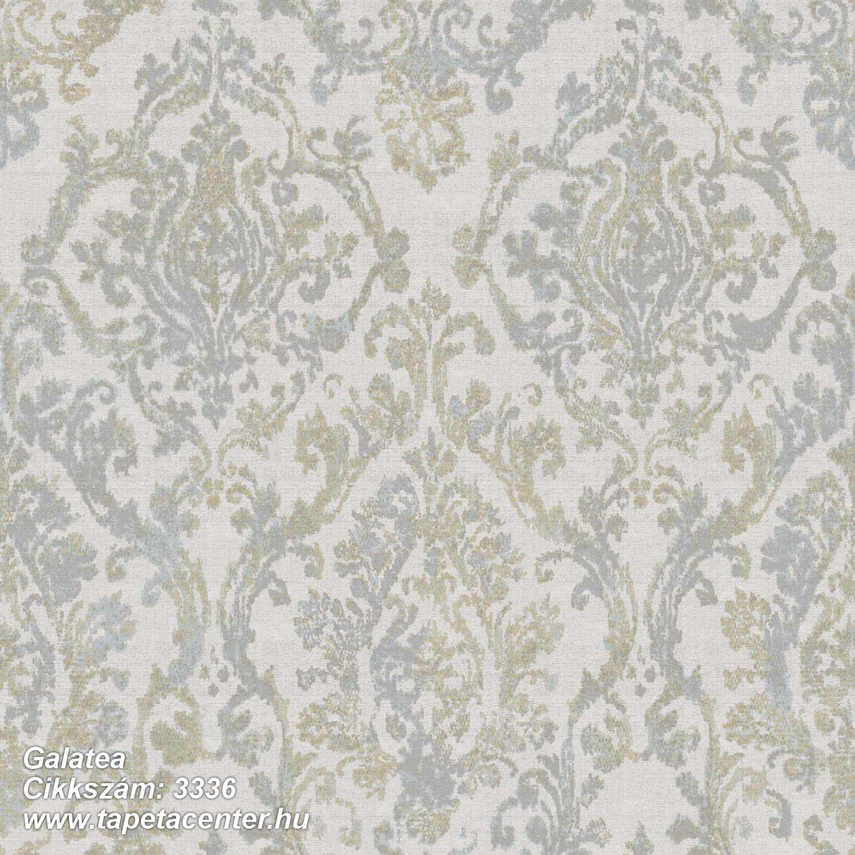Barokk-klasszikus,textil hatású,barna,fehér,szürke,súrolható,vlies tapéta