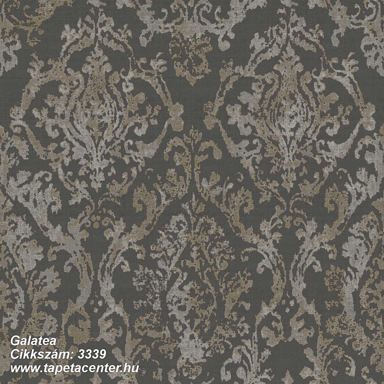 Barokk-klasszikus,textil hatású,barna,szürke,súrolható,vlies tapéta