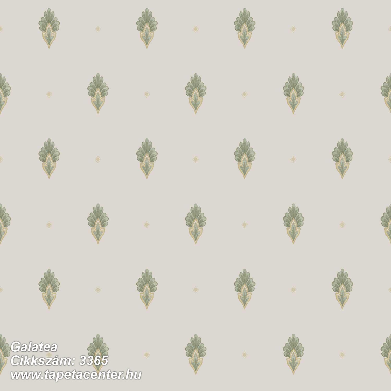 Barokk-klasszikus,textil hatású,barna,fehér,zöld,súrolható,vlies tapéta