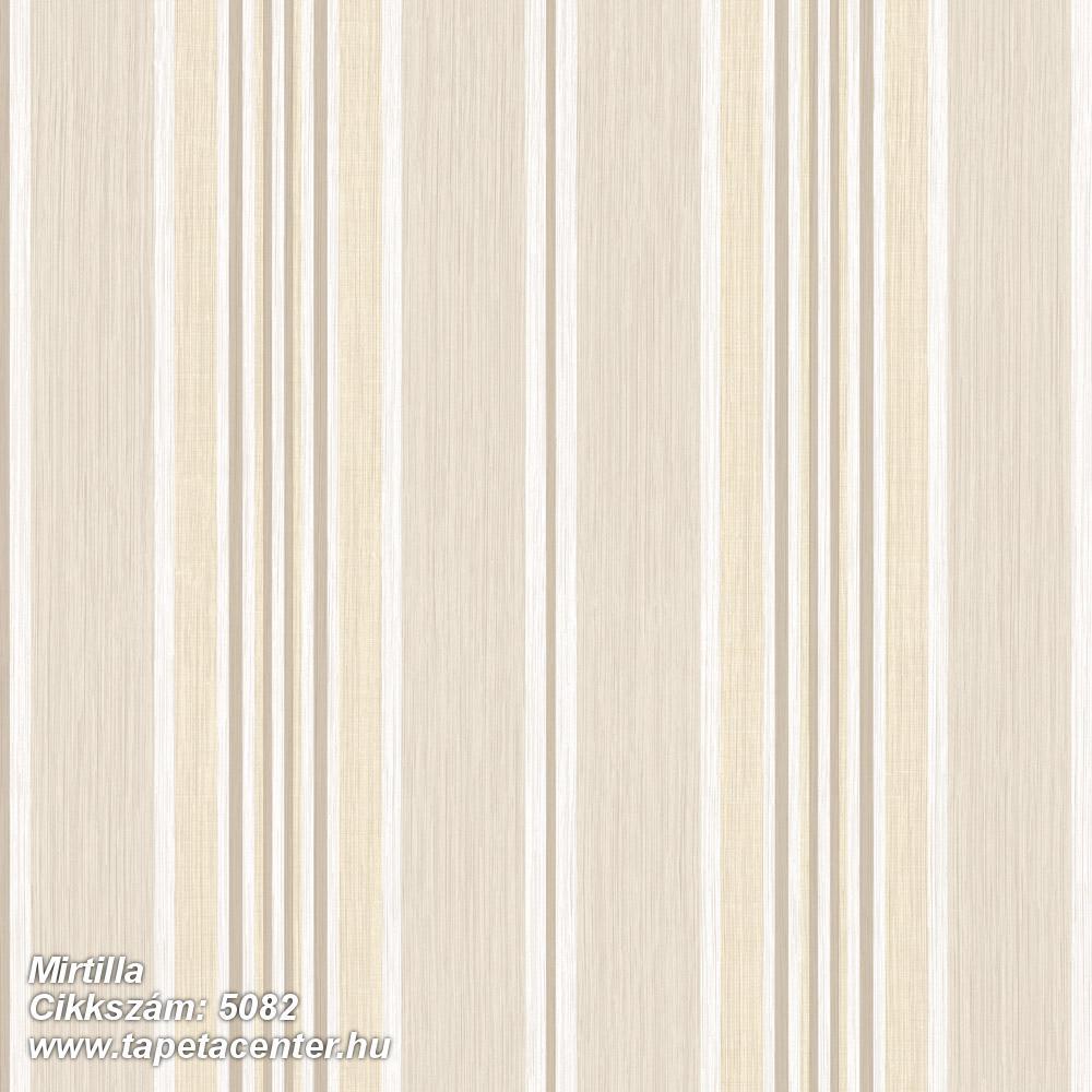 Barokk-klasszikus,csíkos,barna,bézs-drapp,fehér,súrolható,illesztés mentes,vlies tapéta
