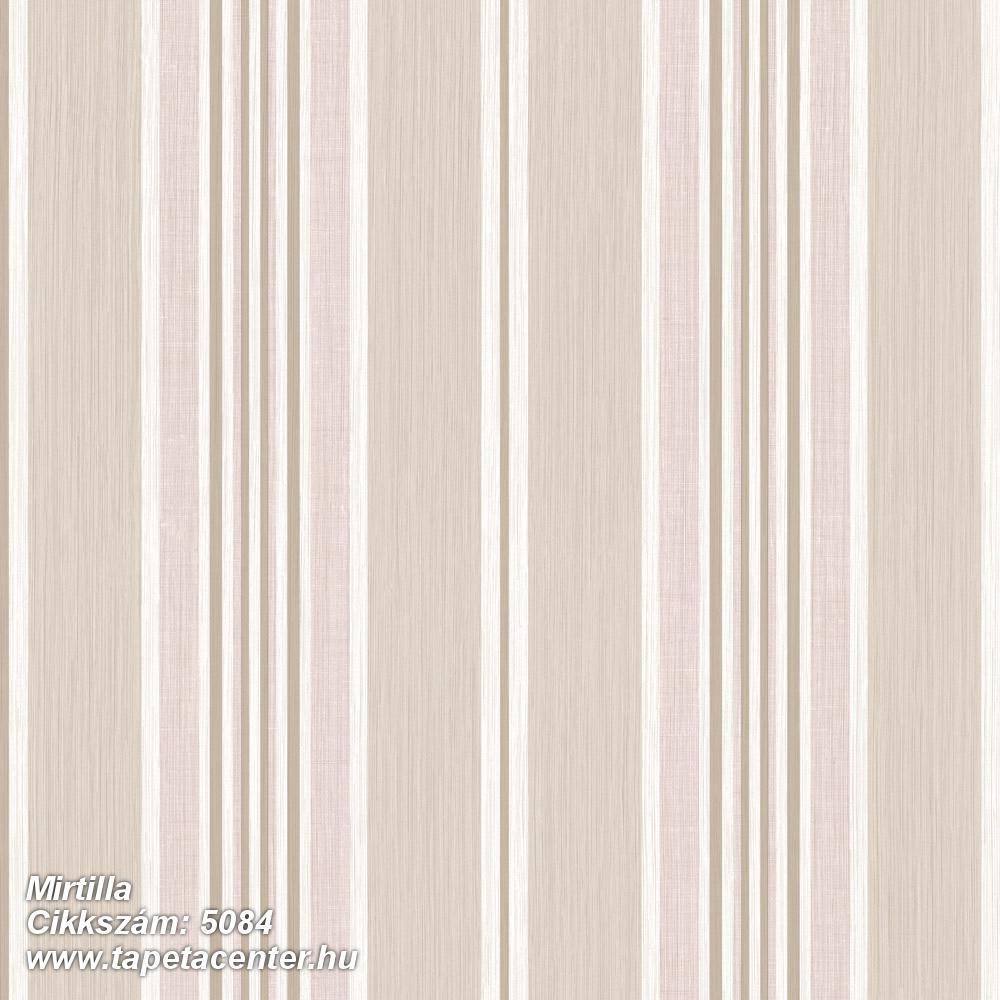 Csíkos,bézs-drapp,fehér,pink-rózsaszín,súrolható,illesztés mentes,vlies tapéta
