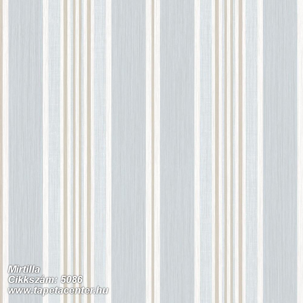 Barokk-klasszikus,csíkos,bézs-drapp,fehér,kék,súrolható,illesztés mentes,vlies tapéta