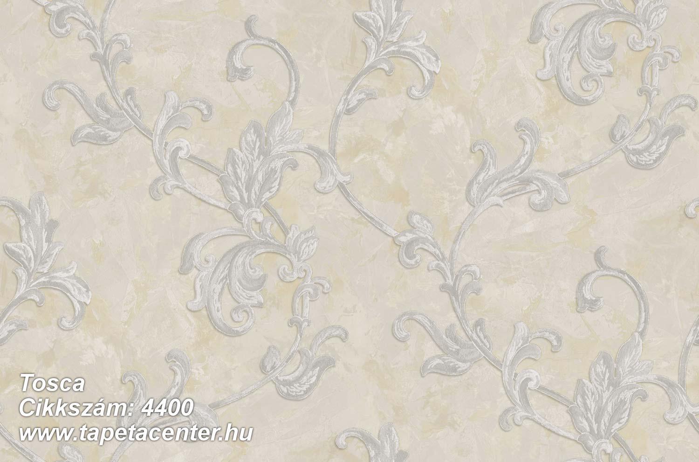 Barokk-klasszikus,textil hatású,virágmintás,barna,bézs-drapp,szürke,súrolható,vlies tapéta
