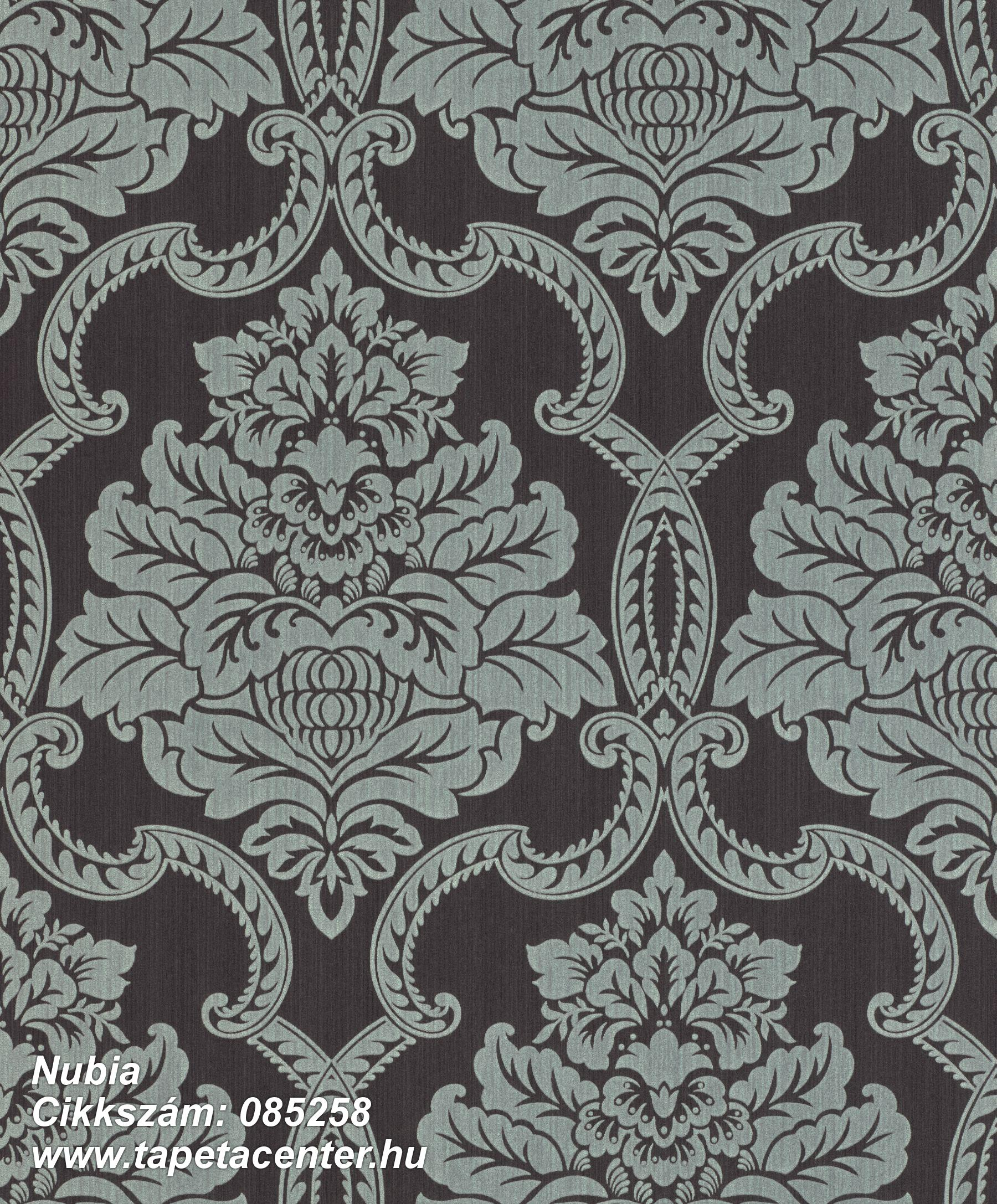 Barokk-klasszikus,valódi textil,lila,szürke,vlies tapéta