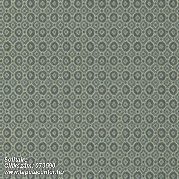 Geometriai mintás,sárga,zöld,vlies tapéta