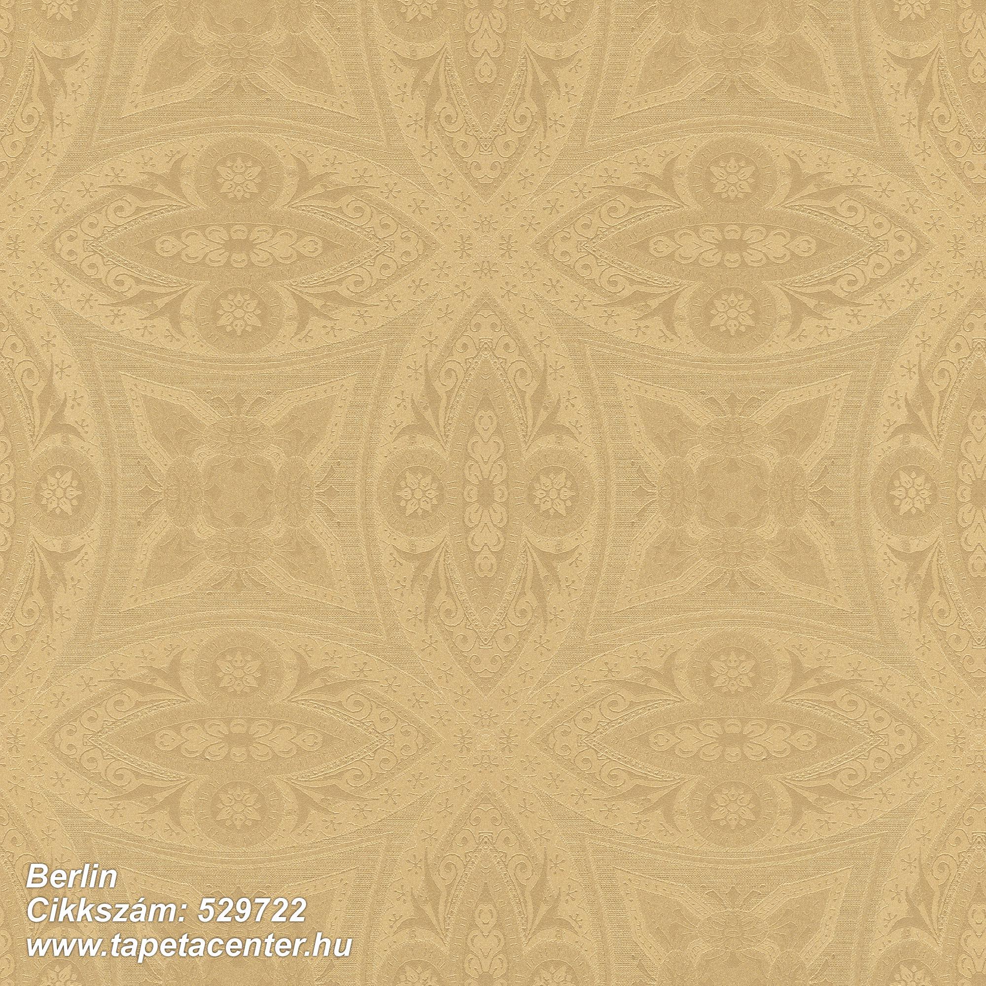Marokkói ,metál-fényes,arany,lemosható,vlies tapéta