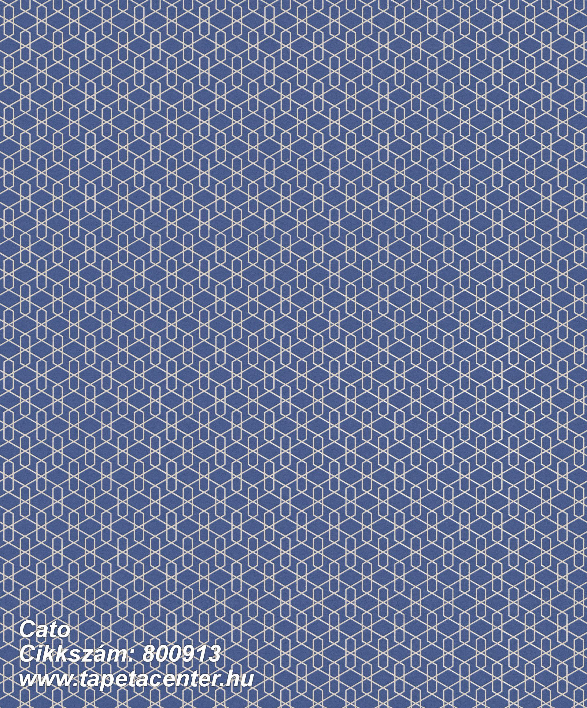 Különleges motívumos,absztrakt,ezüst,kék,lemosható,vlies tapéta