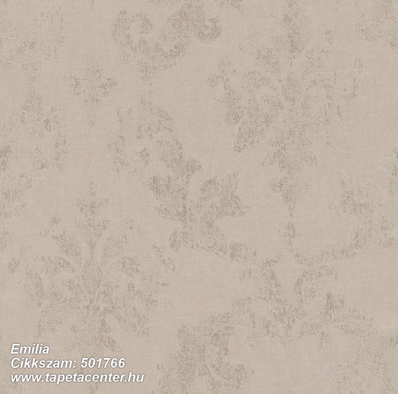 Barokk-klasszikus,metál-fényes,barna,bézs-drapp,lemosható,vlies tapéta