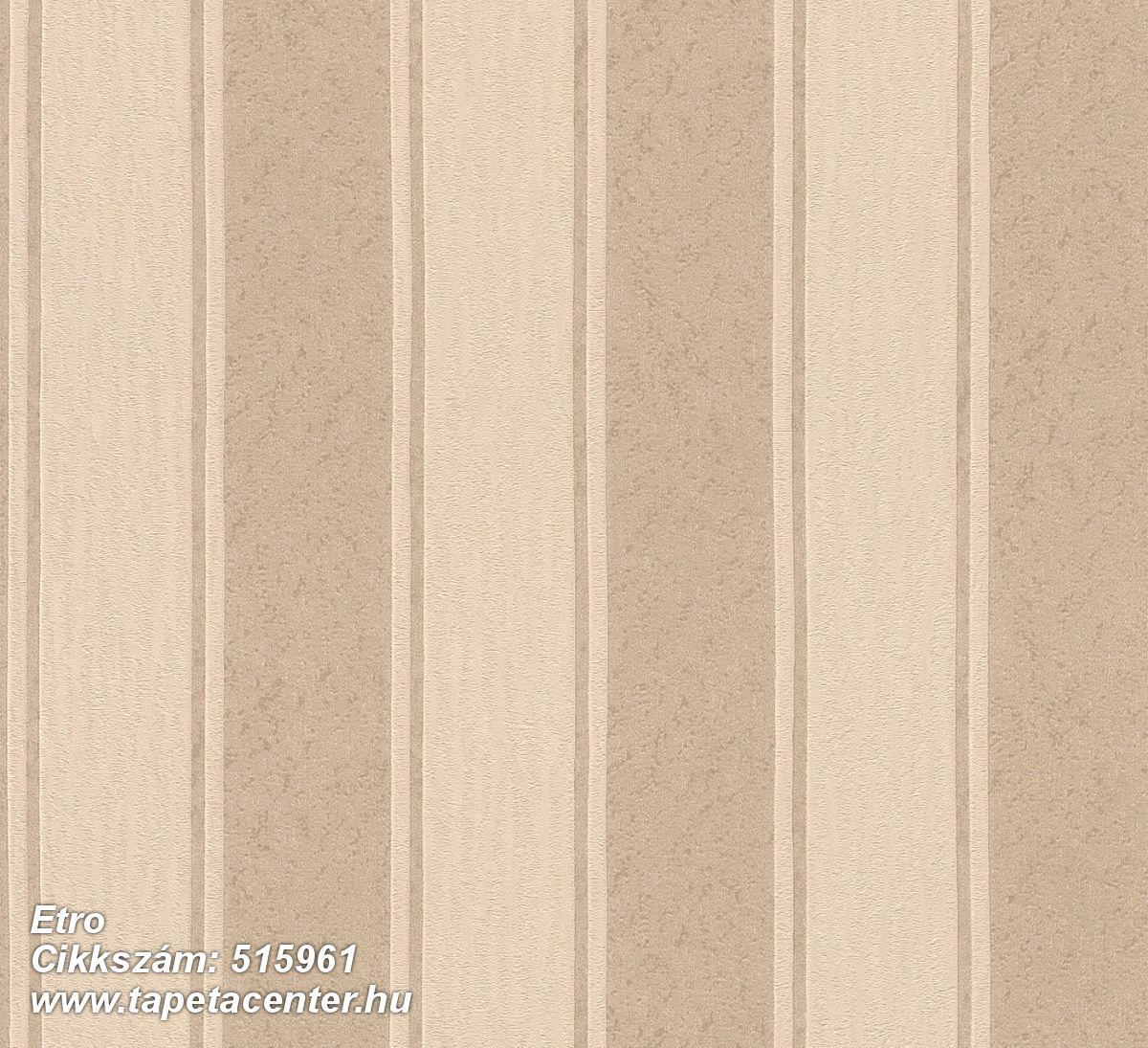Csíkos,különleges felületű,rajzolt,retro,textil hatású,textilmintás,barna,bézs-drapp,lemosható,illesztés mentes,Vlies tapéta