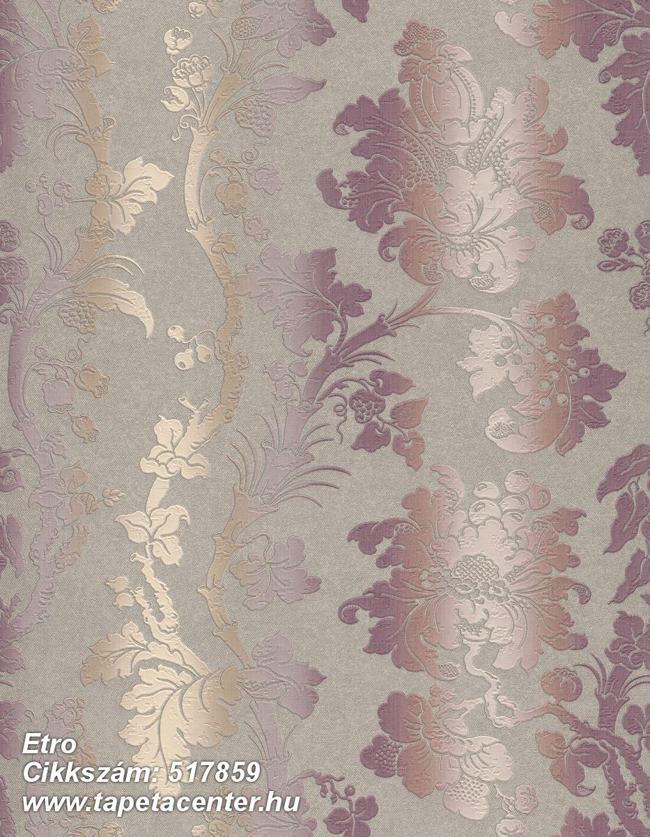 Csíkos,különleges felületű,különleges motívumos,metál-fényes,textil hatású,textilmintás,bézs-drapp,bronz,lila,narancs-terrakotta,szürke,vajszín,lemosható,Vlies tapéta