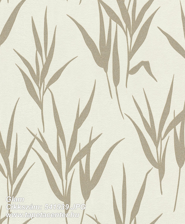 Csillámos,természeti mintás,arany,fehér,lemosható,vlies tapéta