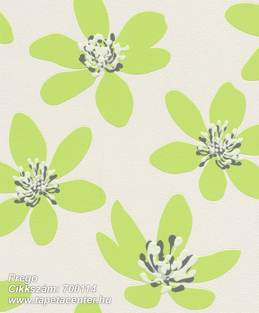 Gyerek,különleges felületű,retro,természeti mintás,virágmintás,fehér,fekete,szürke,zöld,lemosható,vlies tapéta