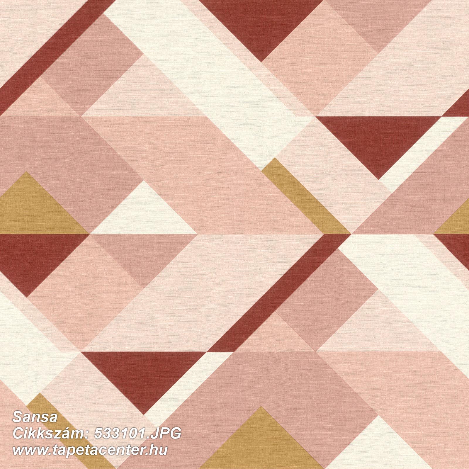 Absztrakt,arany,fehér,pink-rózsaszín,piros-bordó,lemosható,vlies tapéta