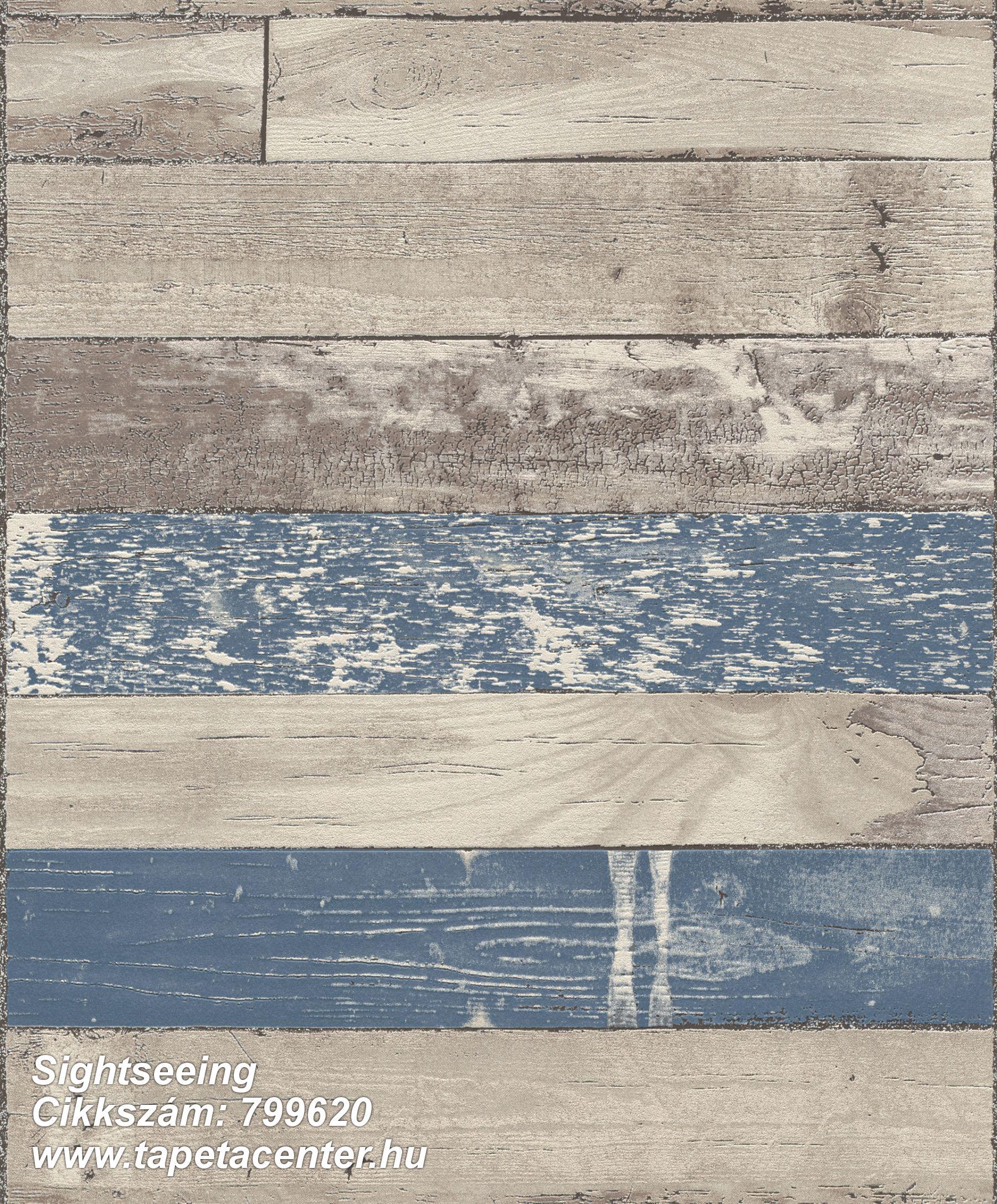 Fa hatású-fa mintás,barna,bézs-drapp,kék,lemosható,illesztés mentes,vlies tapéta