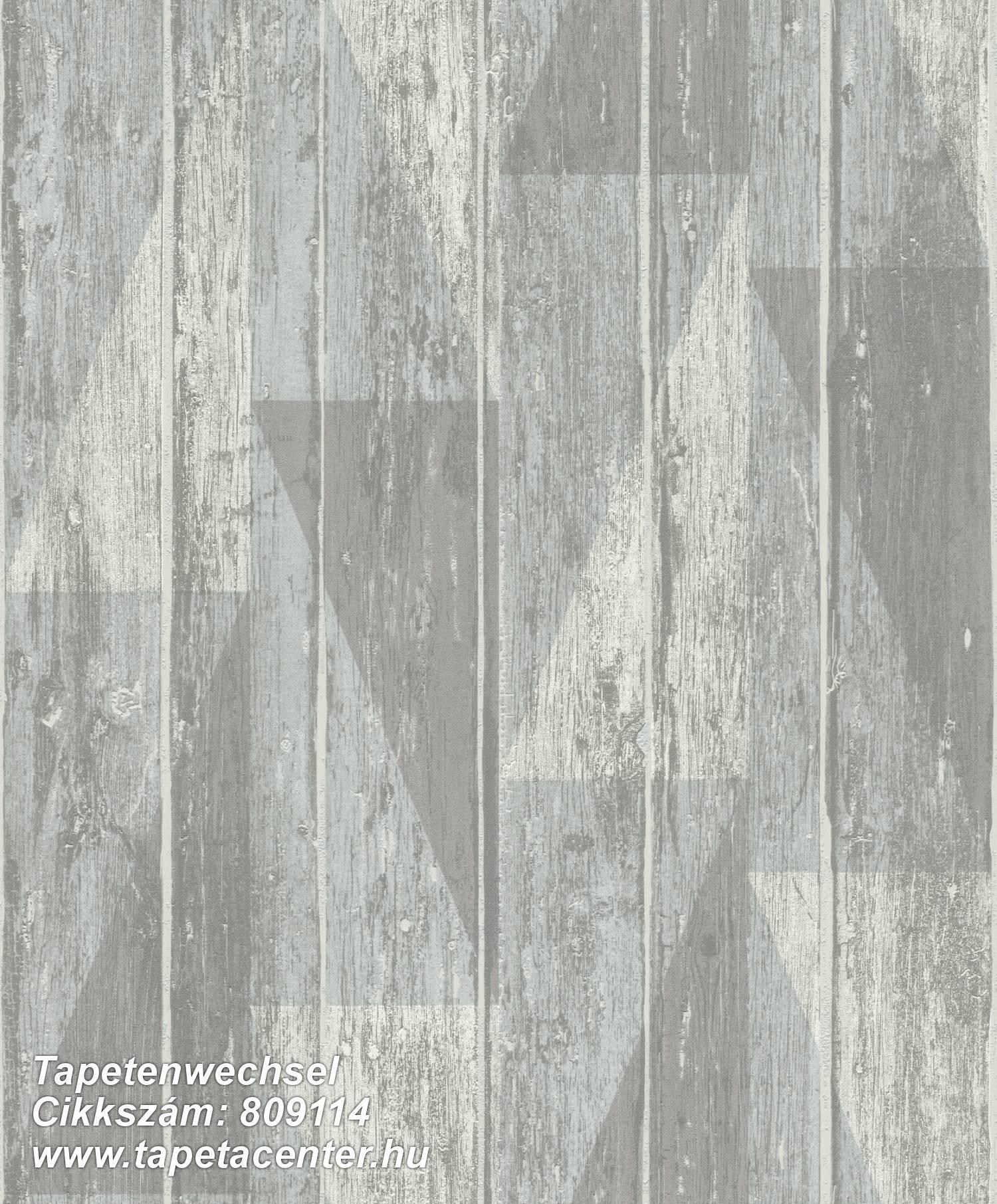 Absztrakt,fa hatású-fa mintás,különleges felületű,barna,kék,szürke,lemosható,illesztés mentes,vlies tapéta