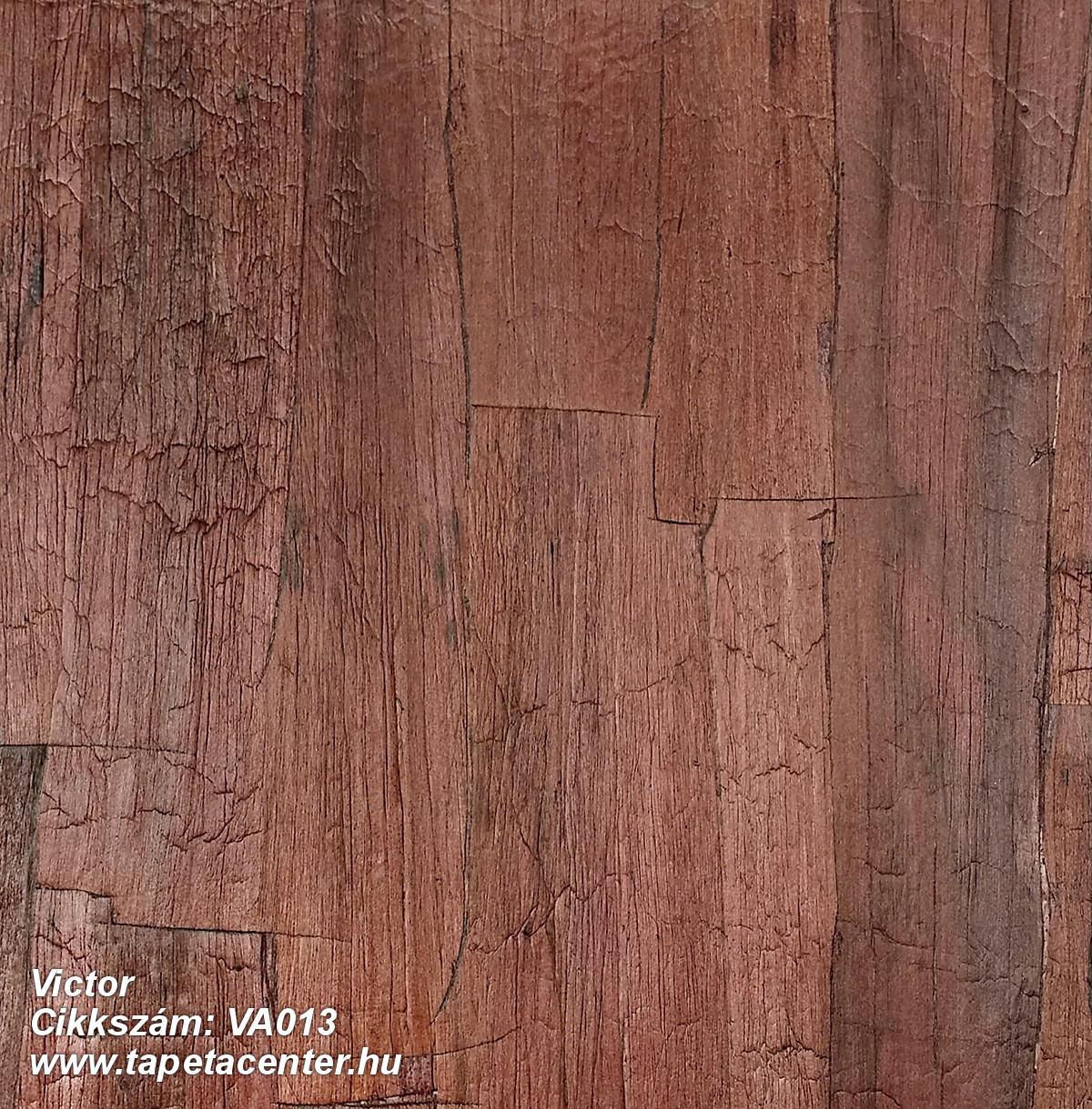 Fa hatású-fa mintás,különleges felületű,piros-bordó,gyengén mosható,illesztés mentes,vlies tapéta