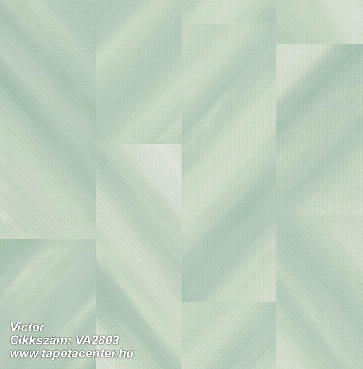 Absztrakt,geometriai mintás,különleges felületű,türkiz,zöld,gyengén mosható,vlies tapéta