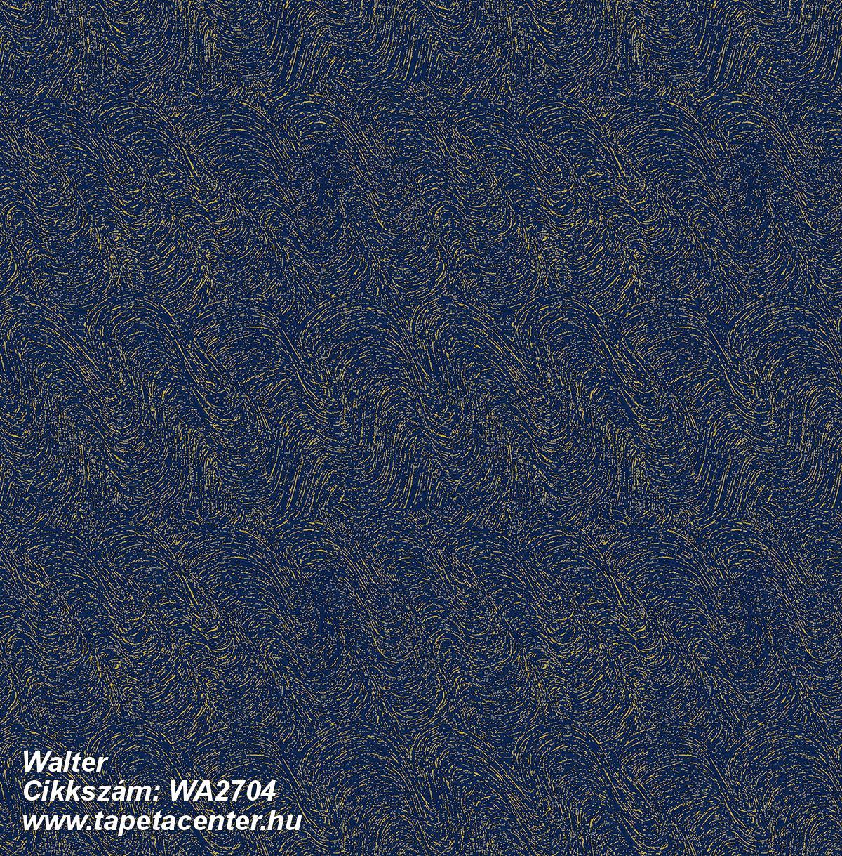 Absztrakt,különleges felületű,arany,kék,gyengén mosható,vlies tapéta