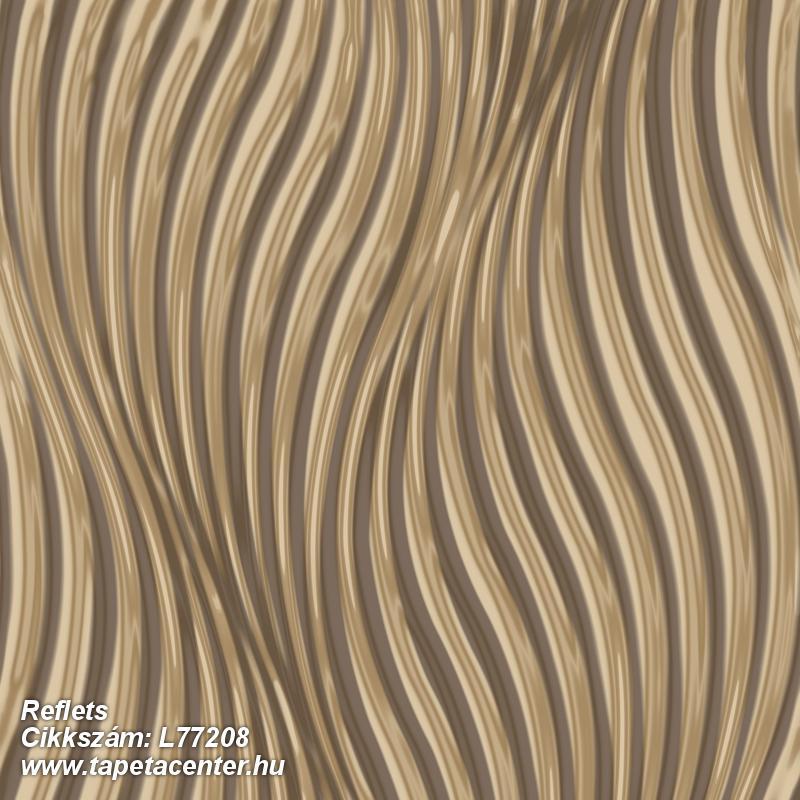 3d hatású,különleges felületű,metál-fényes,arany,barna,lemosható,vlies tapéta
