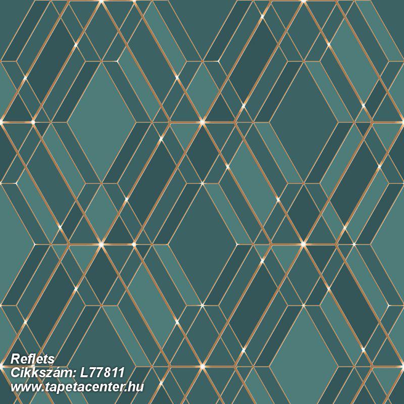 Absztrakt,különleges felületű,arany,türkiz,zöld,lemosható,vlies tapéta